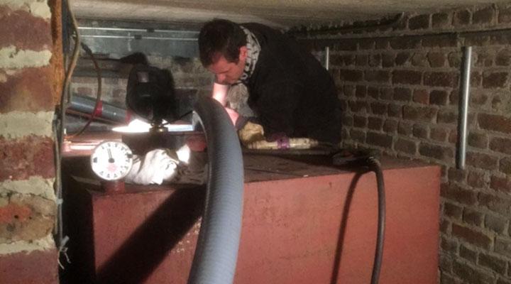 Nettoyage citerne mazout d gazage et entretien cuve fioul for Cuve fioul dans garage